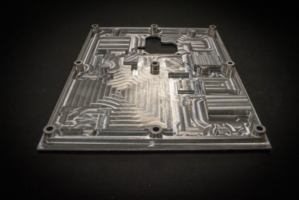 CNC Machined Aluminum Plate